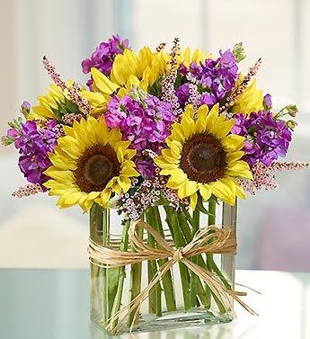 sunflower floral arrangements - Google Search