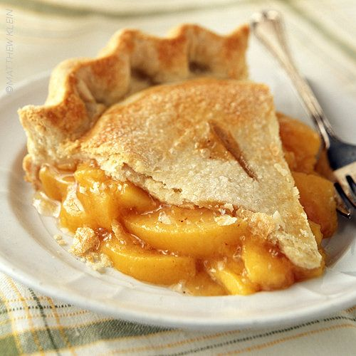 Peach Pie: My Mom's Favorite