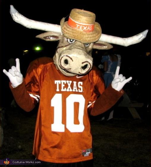 texas longhorn bevo mascot costume - Halloween Events In Texas