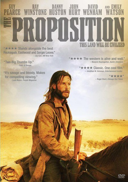 Directed by John Hillcoat.  With Ray Winstone, Guy Pearce, Emily Watson, Richard Wilson. A lawman apprehends a notorious outlaw and gives him nine days to kill his older brother, or else they'll execute his younger brother.
