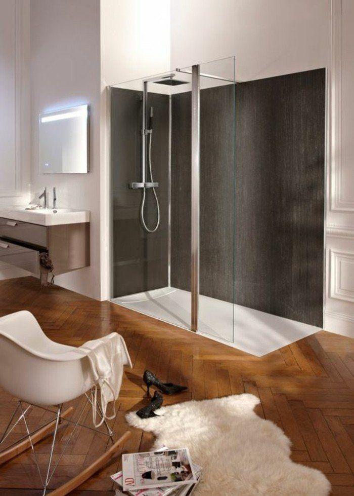 Les 25 meilleures images de la cat gorie salle de bains avec parquet sur pint - Salle de bain avec parquet ...