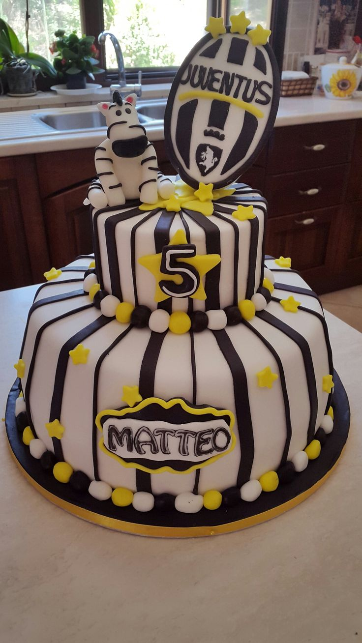 Torta Calcio Juve Giovanna Rella Cake In 2019 Torte