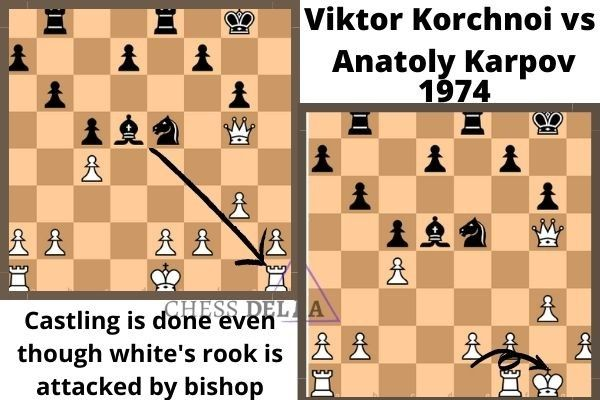 Kingside Castling Example In 2020 Chess Chess Board Rook