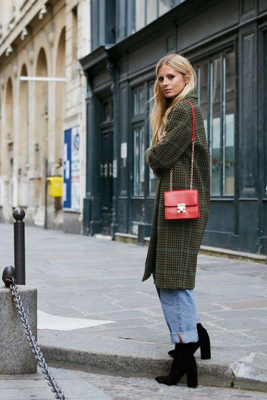 Laura Bailey im Street-Style-Look von & Other Stories