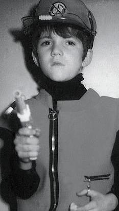 Simon Cowell as a boy.