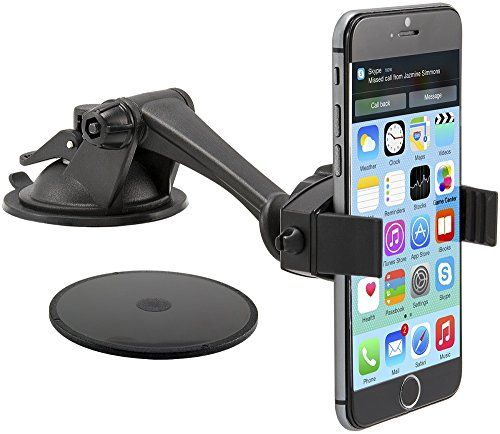 Arkon Windshield or Dash Smartphone Car Mount for Apple iPhone 6 Plus iPhone 6 5 5S 5C Samsung Galaxy Note 4 3... - Listing price: $19.95 Now: $17.95
