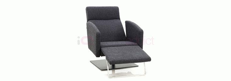 Modern Reclining Armchair | Modern Lounge Chair | Stylish Reclining Lounge Chair