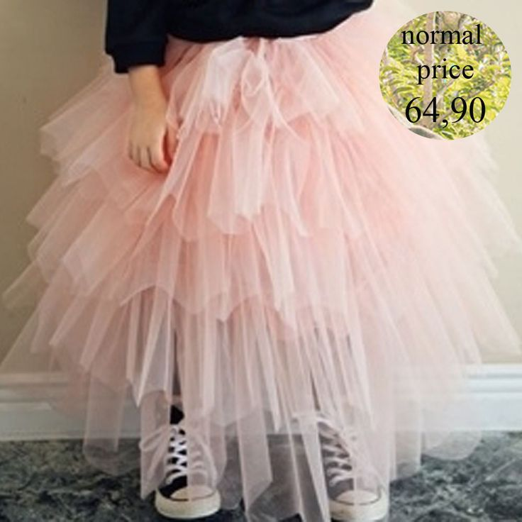 Corso Skirt - LA PETITE PRINCESSE DE ANNIKA. High waisted Tutu-skirt with gold sparkle! Colors: Peach Pink (availiable), Black (only pre-order)Size guide: size XS / total length 50,8 / waist 36size S / total length 56,8 / waist 38size M / total length 62,8 / waist 40size L / total length 68,8 /waist 42Model on the picture is 112cm tall/ weights 18kgr and wears the korean size M.Style: ScandinavianANNIKA is a children's fashion brand with a vintage S...