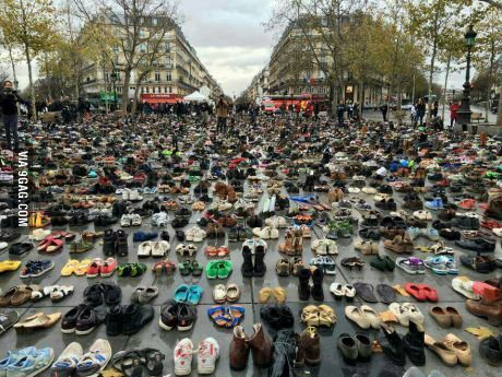 What happens when meetings are forbidden due to security mesures. Paris today.