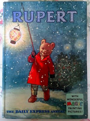 my favourite Rupert 1960. Still have this annual.