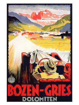 bozen-gries-franz-lenhart-italian-travel-poster-1934
