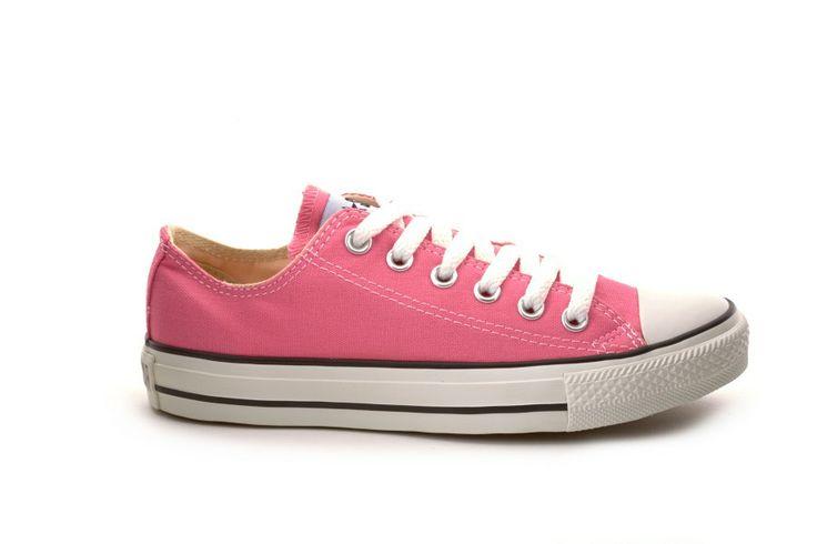 Converse basse rosa scarpe donna