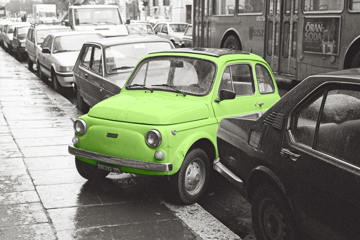 Cinquecento, Roma 1989, © Remo Fella