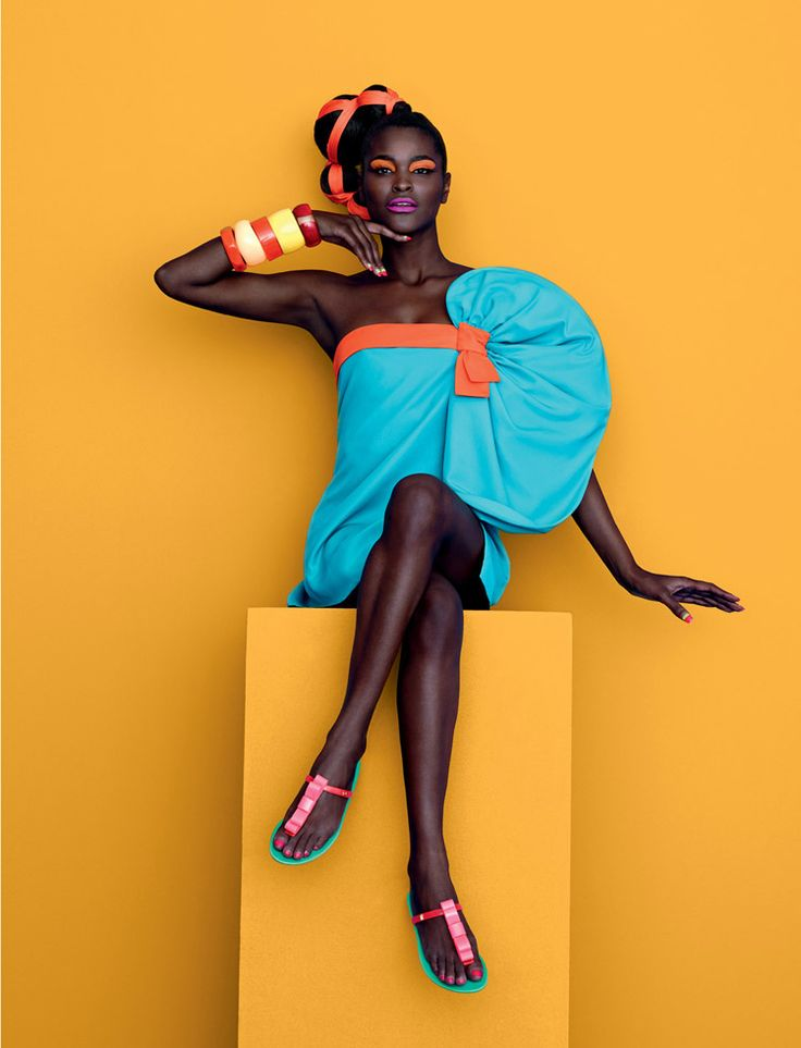 Black is Beautiful and Colorful.