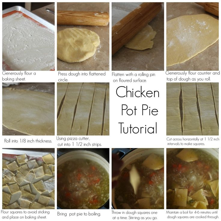 How to Make Homemade Chicken Pot Pie - Ultimate Winter Comfort Food - So delicious!