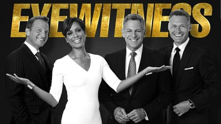 Eyewitness News (Channel 7) from N.Y.🗽 From left to right; Lee Goldberg, Sade Baderinwa, Bill Ritter and Rob Powers.