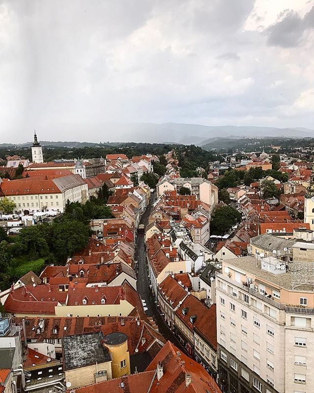 Enjoying The Beautiful Views Of Zagreb With Gordon S Balkans Semester Beautiful Views Zagreb Views