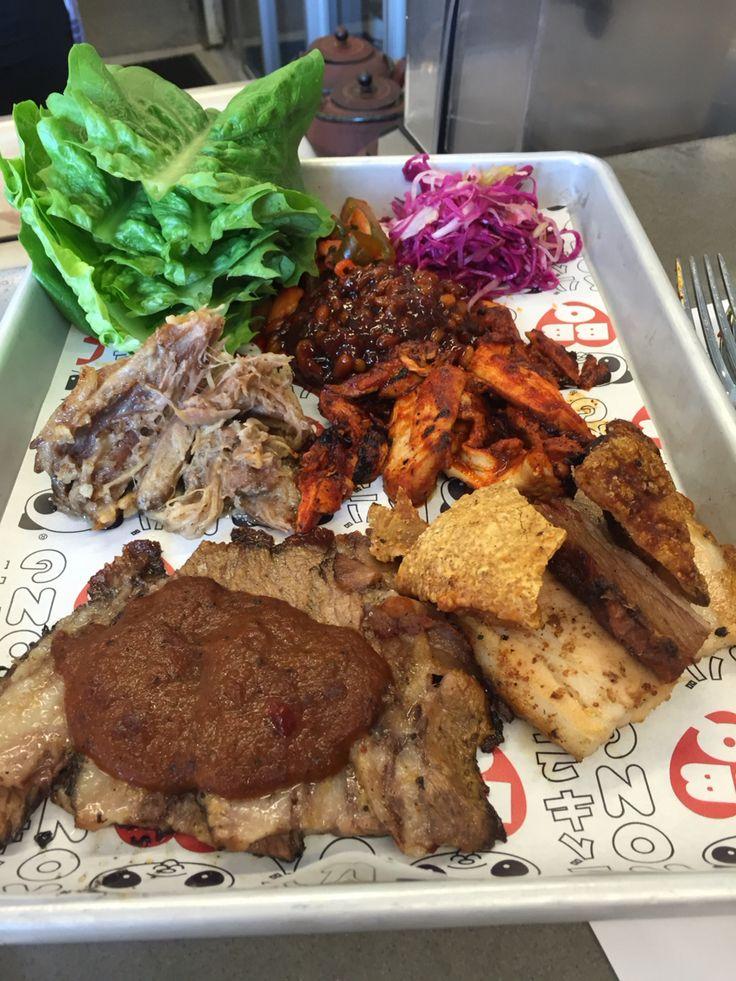 BBQ platter at Kong, Richmond Melbourne