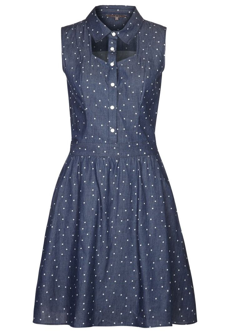 mint&berry - Vestido camisero - azul