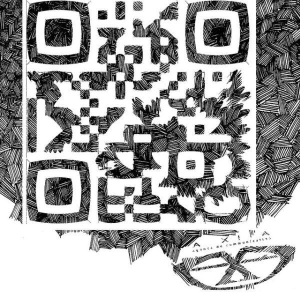 Ont le sait les QR codes, malgré leur forme carré qui peut sembler rigide, sont de magnifiques moyens d'expressions graphiques quand on sait y faire! Voici une lien vers 40 superbes QR codes créatifs. Celui-ci est mon préféré, quel est le vôtre ?  http://digitalmofo.com/40-gorgeous-qr-code-artworks-that-rock/#