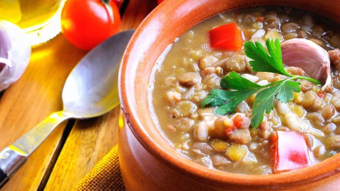 How do you make a copycat Carrabba's lentil soup recipe?