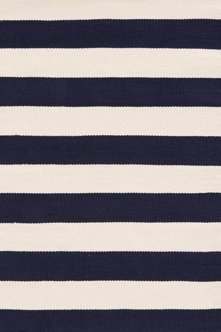 Set your sights on this sail-worthy stripe. A rug for all seasons. Made of superheroic polypropylene, our indoor/outdoor area rugs are terrific for high-traffic areas and muddy messes. Scrubbable, bleachable and UV-treated for outdoor use, this...
