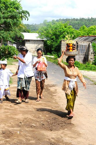 Nusa Lembongan Family. Such a beautiful and respectful culture within the Balinese people.