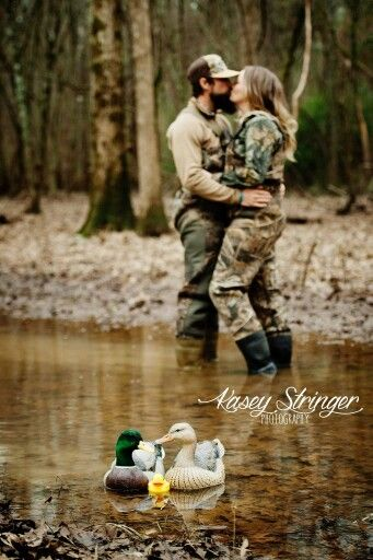 Couples who duck hunt