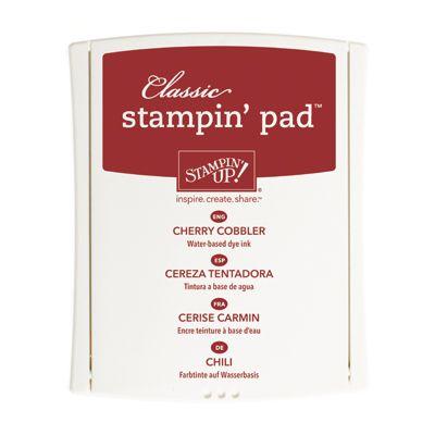 Cherry Cobbler Classic Stampin' Pad
