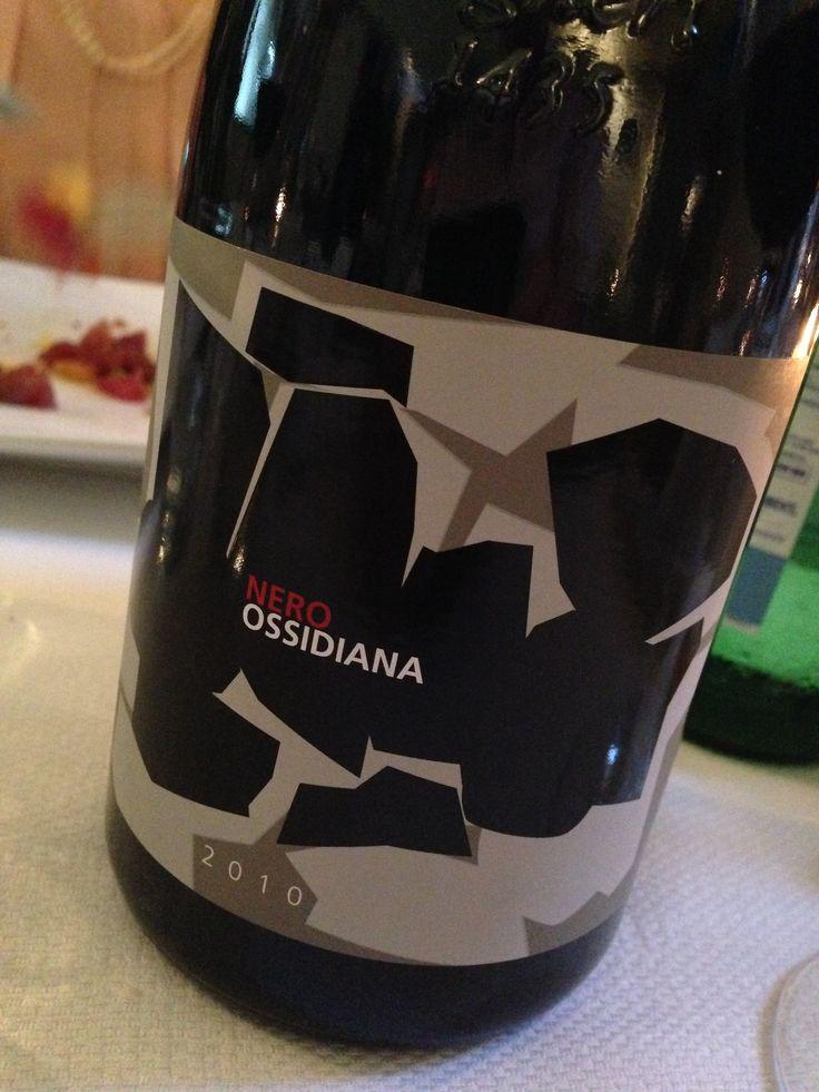 Ossidiana wine from Lipari