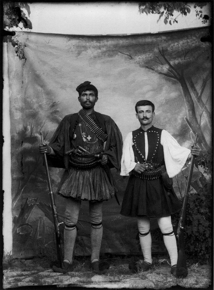 Greek Fighters of the Macedonian Struggle Artist: Leonidas Papazoglou