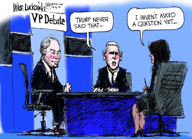 The V.P. debate in a nutshell...