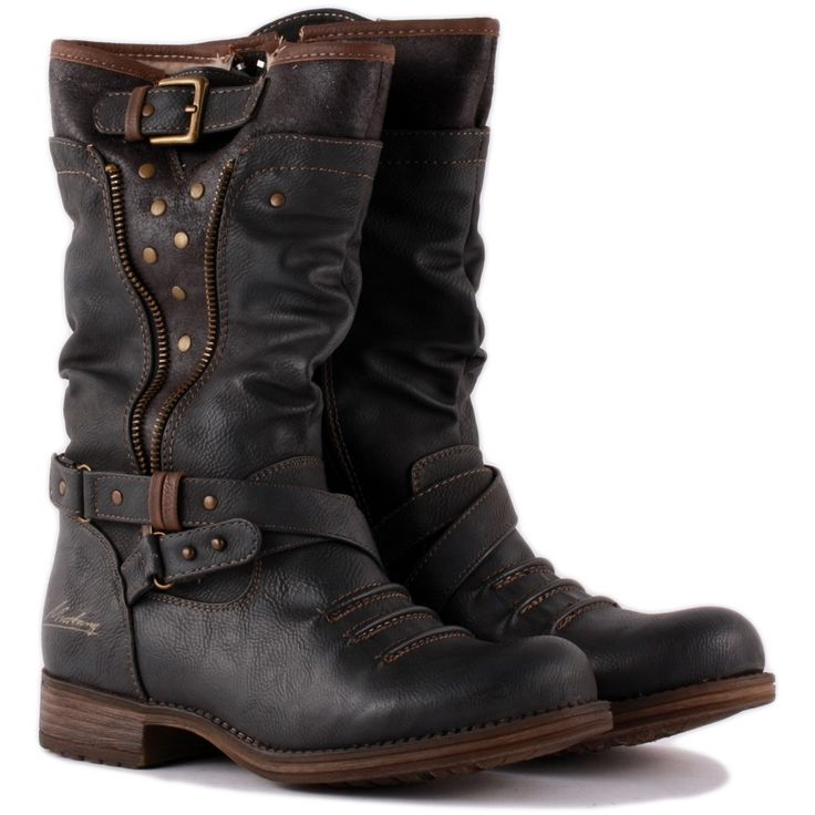 oldsmobileclub.ga High quality genuine leather boots square heel rivets black fashion sexy women motorcycle knee high boots shoes. Sold by VIRTUAL STORE USA. $ BELSTAFF Women's Antique Black Megan Motorcycle Boots $1, NEW. Sold by Walk Into Fashion.