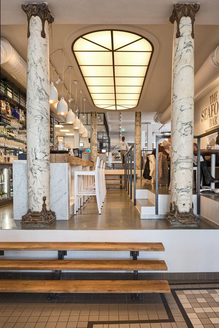 Op donderdag 19 maart jl. is de tweede vestiging van The Seafoodbar Spui geopend in Amsterdam. Na het succes van de eerste vestiging in de Van Baerlestraat besloot eigenaar Fons de Visscher uit te breiden met een tweede #restaurant aan het Spui. Vanwege de omvang van de nieuwe vestiging werd #designbureau ESTIDA ingehuurd voor de realisatie van het project.