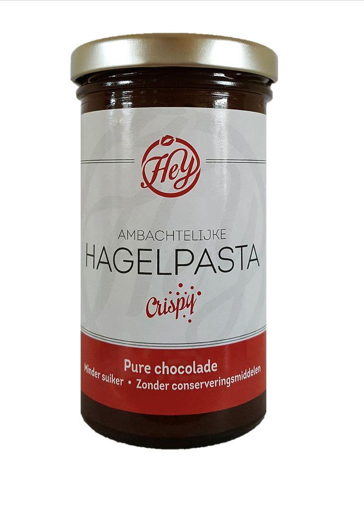 """Leuk om te horen. Ze noemen het nu al """"een heerlijke Bonbon in een potje"""". #Hagelpasta  http://www.bommelsconserven.nl/delicatessen/chocolade_online_bestellen_bij_bommels_conserven/chocolade_spreads_online_kopen_bij_bommels_conserven/"""