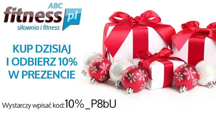 Promocja na cały asortyment bez wyjątków, idealny moment na zakupy prezentów Świątecznych Szczegóły na: http://www.abcfitness.pl/p/promocja-tygodnia-w-abcfitness/