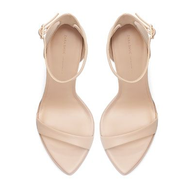 LEATHER SANDAL - Shoes - Woman - New collection | ZARA Romania