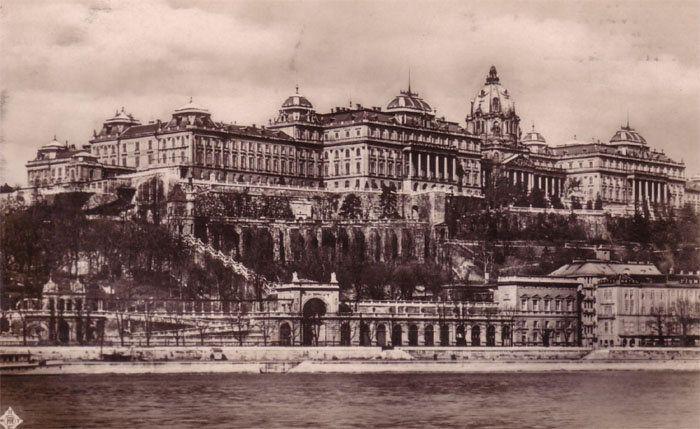 Budai vár 1930
