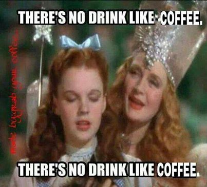 there's no drink like coffee.... Good morning everyone :)