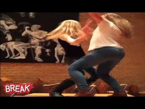 Important drunk teen fails dancing drunk can not
