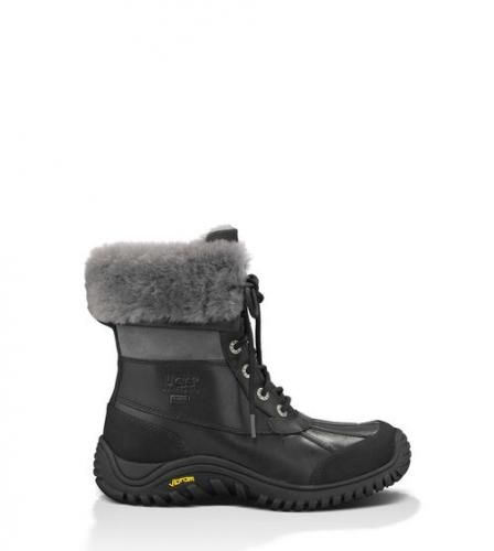 #Ugg adirondack boot ii donna black/grey 36  ad Euro 299.00 in #Ugg #Donna scarpe stivali