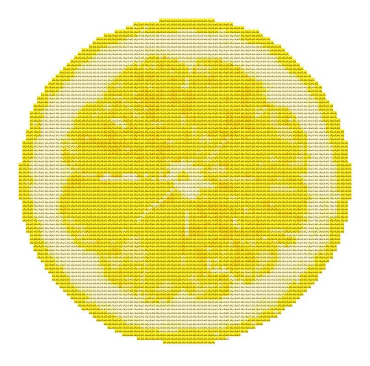 Cross Stitch Pattern - Lemon Fruit - Modern Cross Stitch PDF Chart. $5.00, via Etsy.