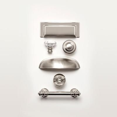 Nickel Finial Cabinet Hardware Pull P20647C PN CP At The Home Depot