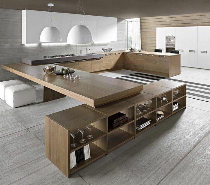 jolie-cuisine-zen-de-style-feng-shui-en-bambou-meuble-sol-gris-meubles-beiges.jpg (700×617)