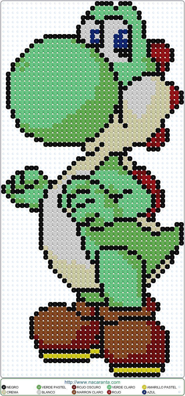 Yoshi en Jeroglífico.                                                                                                                                                                                 Más