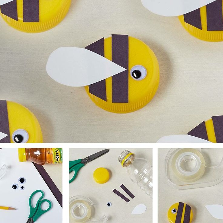 "What a great Daisy craft to teach about ""Bee"" a sister to every Girl Scout, and to talk about recycling all in one!!!"