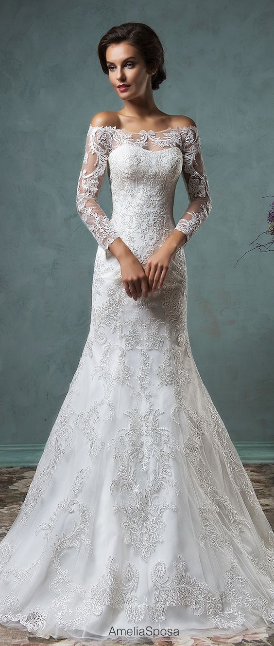 50 Beautiful Lace Wedding Dresses To For Inspiration Pinterest Gowns And