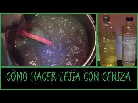 LEJÍA DE CENIZA - ASH BLEACH - OBTENCIÓN - YouTube                                                                                                                                                                                 Más