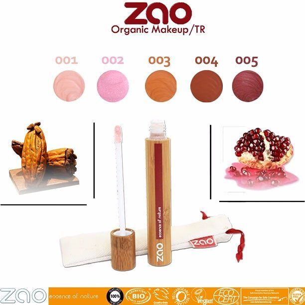 Günaydın :) Zao Organic Makeup 'ın Lip Gloss ürünü ile soğuk havalarda dudaklarınızı koruyun ! Organik Nar Yağı ; Besler, yumuşatır ve nemlendirir. Çok yumuşak ve uygulaması son derece keyiflidir. Cildi pürüzsüz hale getirir ve kadifemsi bir görüntü kazandırır. Yumuşatıcı, leke giderici, cildi besler ve kurumaya karşı korur. Yumuşatır ve canlandırır böylece cildin onarım işlevi aktive edilir. Organik Kakao Yağı ; dış etkilere karşı cildi korur. Deri yüzeyi üzerinde bir bariyer oluşturarak…