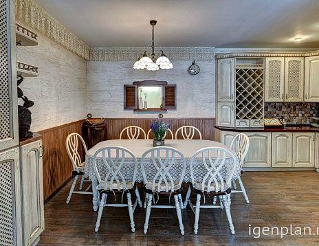 Кухня и зона отдыха в загородном доме. Дизайнер: Маргарита Коротаева. #дизайнинтерьера #igenplan #дизайнкухни  #кухни